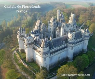 Castelo de Pierrefonds vista de cima