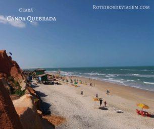Praia Canoa Quebrada em Fortaleza