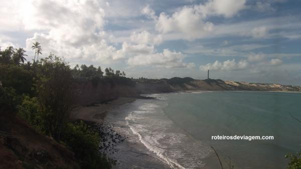 Praia da Barra de Tabatinga - Vista do Mirante dos Golfinhos